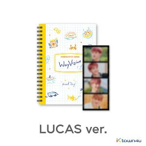 [WayVision] WayV_LUCAS_Commentary book+film SET