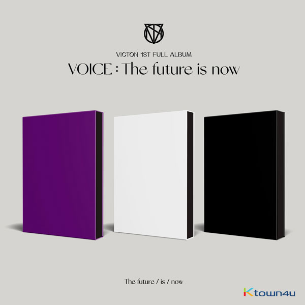 [Ktown4u Event] [SET][3CD SET] VICTON - Album Vol.1 [VOICE : The future is now] (The future ver. + is ver. + now ver.)