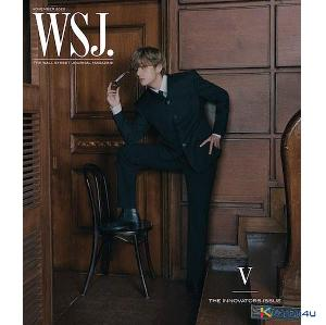 【杂志】 The Wall Street Journal USA 2020.11 (Cover : BTS V)