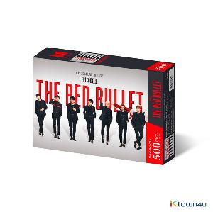 BTS - Jigsaw Puzzle World Tour Poster 4 THE RED BULLET
