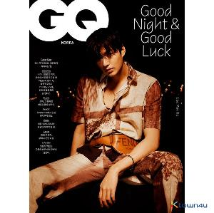 【杂志】 GQ KOREA 2021.02 B Type (Cover : Lee Min Ho)