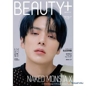【杂志】 BEAUTY+ 2021.02 (Cover : MONSTA X Minhyuk)