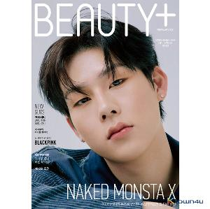 【杂志】 BEAUTY+ 2021.02 (Cover : MONSTA X Jooheon)