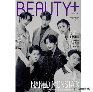 【杂志】 BEAUTY+ 2021.02 (Cover : MONSTA X Group)