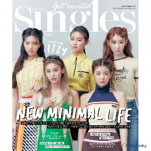 【韩国杂志】 Singles 2021.03 (Cover : ITZY / Content : Super Junior 李东海 DongHae, CIX, MAMAMOO 颂乐 SOLA, OHMYGIRL 金祉呼 JIHO)