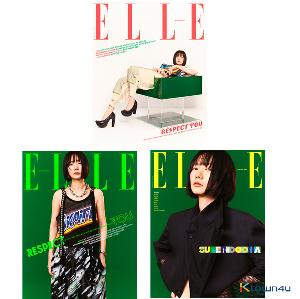[杂志]ELLE 2021.03 (ELLE 2021.03 ( 内页 : 李钟硕 10p, GOT7 YUGYEOM 8p, Red Velvet Joy 8p)