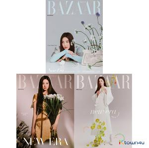 [杂志] HARPER`S BAZAAR 2021.03 (内页 : Highlight 10p, Sooyoung 6p, Yuri 6p, Seulgi) *3款封面随机發货