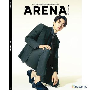 [杂志]ARENA HOMME+ 2021.03 (封面 : LEE DONG WOOK / 内页 : MONSTA X I.M 8p, Red Velvet Yeri 10p)
