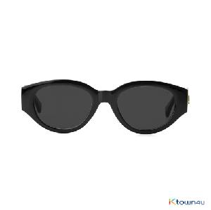 [hybition] D.fox Original sunglass_Glossy Black/Black Lens