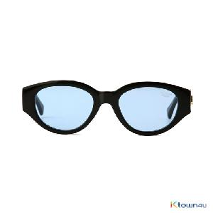 [hybition] D.fox Original sunglass_Glossy Black/Blue Tint Lens