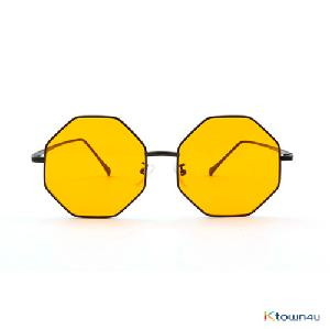[hybition] Stardust Origi sunglassnal_Black/Yellow Tint Lens