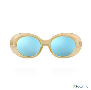 [hybition] Roswell Origin sunglassal_Glossy Yellow/Blue Mirror Lens