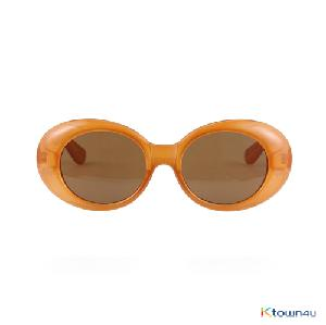 [hybition] Roswell Origin sunglassal_Glossy Brown/Brown Lens