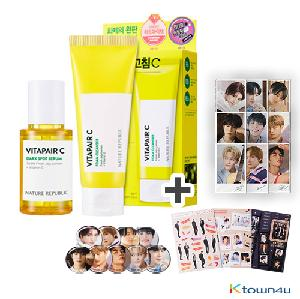 [NATURE REPUBLIC] VITA PAIR C DARK SPOT SERUM WITH FOAM CLEANSER SPECIAL SET