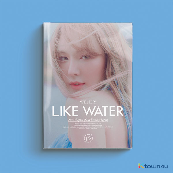 WENDY - 迷你专辑 Vol.1 [Like Water] (Photo Book Ver.)