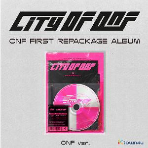 [Ktown4u 活动] ONF - REPACKAGE 专辑 [CITY OF ONF] (ONF Ver.)
