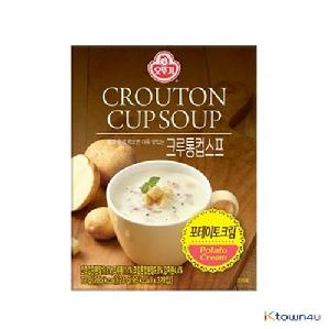 [OTTOGI] Crouton cup soup_Potato Cream 72g*1EA
