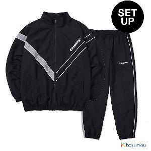 [BORNCHAMPS] CHMPS WIND SET-UP_BLACK(M)