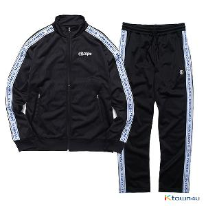 [BORNCHAMPS]BC LOGO TRACK SET-UP_BLACK(M)