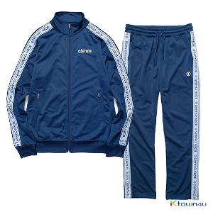 [BORNCHAMPS]BC LOGO TRACK SET-UP_NAVY(M)