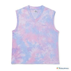 [BORN CHAMPS]TIE-DYE Vest_PURPLE(M)