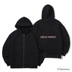 [CELUI HURU]CH REVERSIBLE HOOD ZIP-UP_BLACK(L)