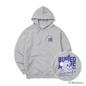 [BORNCHAMPS] BC X BA CHMPS ALIVE HOODY_GRAY