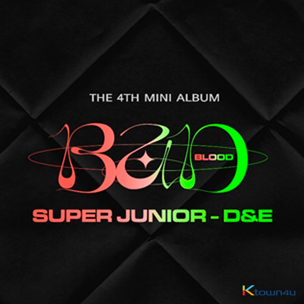 [补款 T恤专] (必须备注OW ID!) Super Junior D&E - Mini Album Vol.4 [BAD BLOOD]_宝蓝映像_FirstImpression