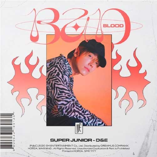 [补贴专 限量666张] Super Junior D&E - Mini Album Vol.4 [BAD BLOOD]_DHeart_李东海资源博