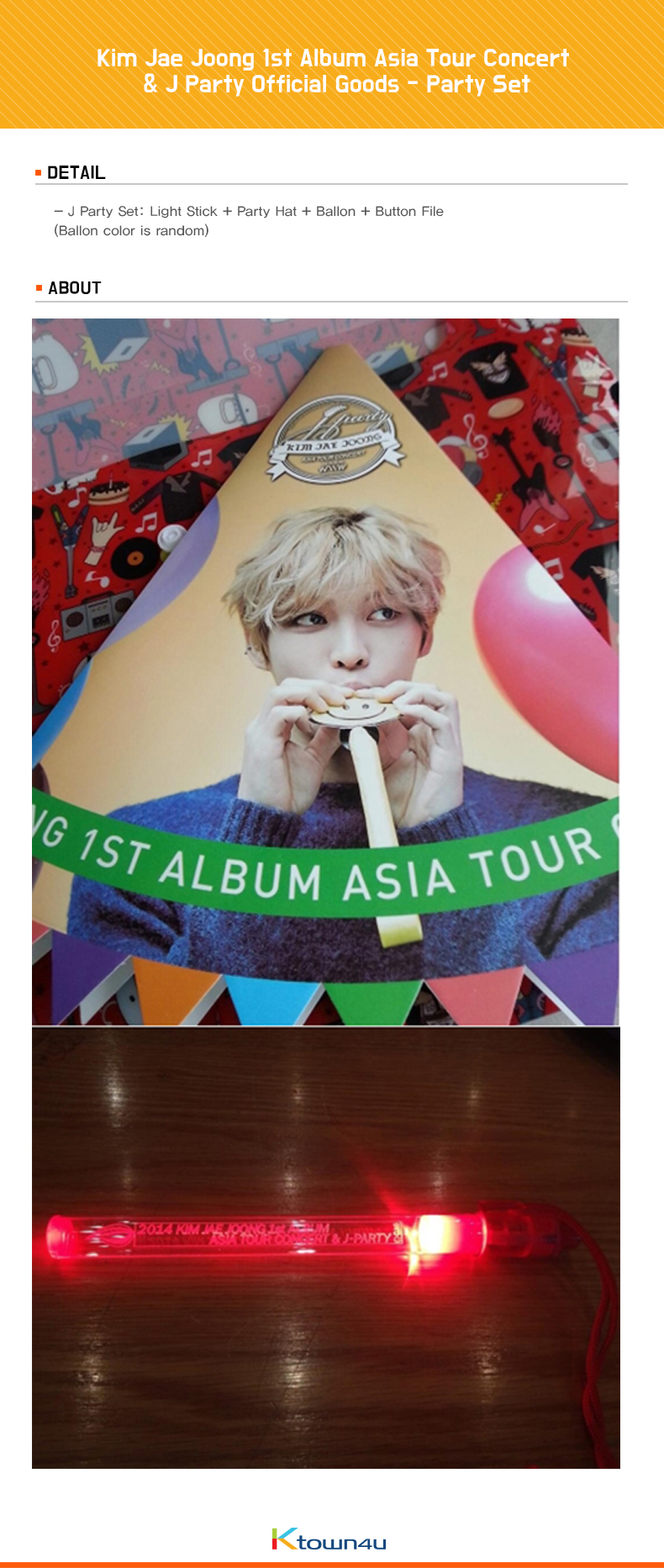 金在中 - Party Set [1st Album Asia Tour Concert & J Party]