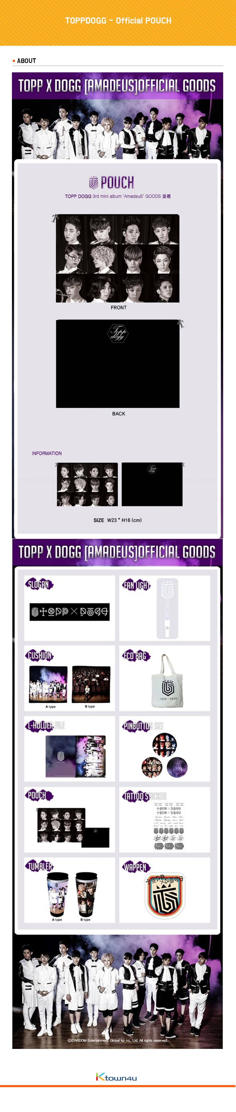 TOPPDOGG - Official POUCH