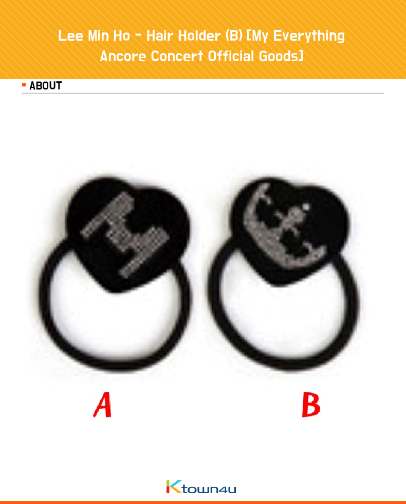 Lee Min Ho - Hair Holder (B) [My Everything Ancore Concert Official Goods]