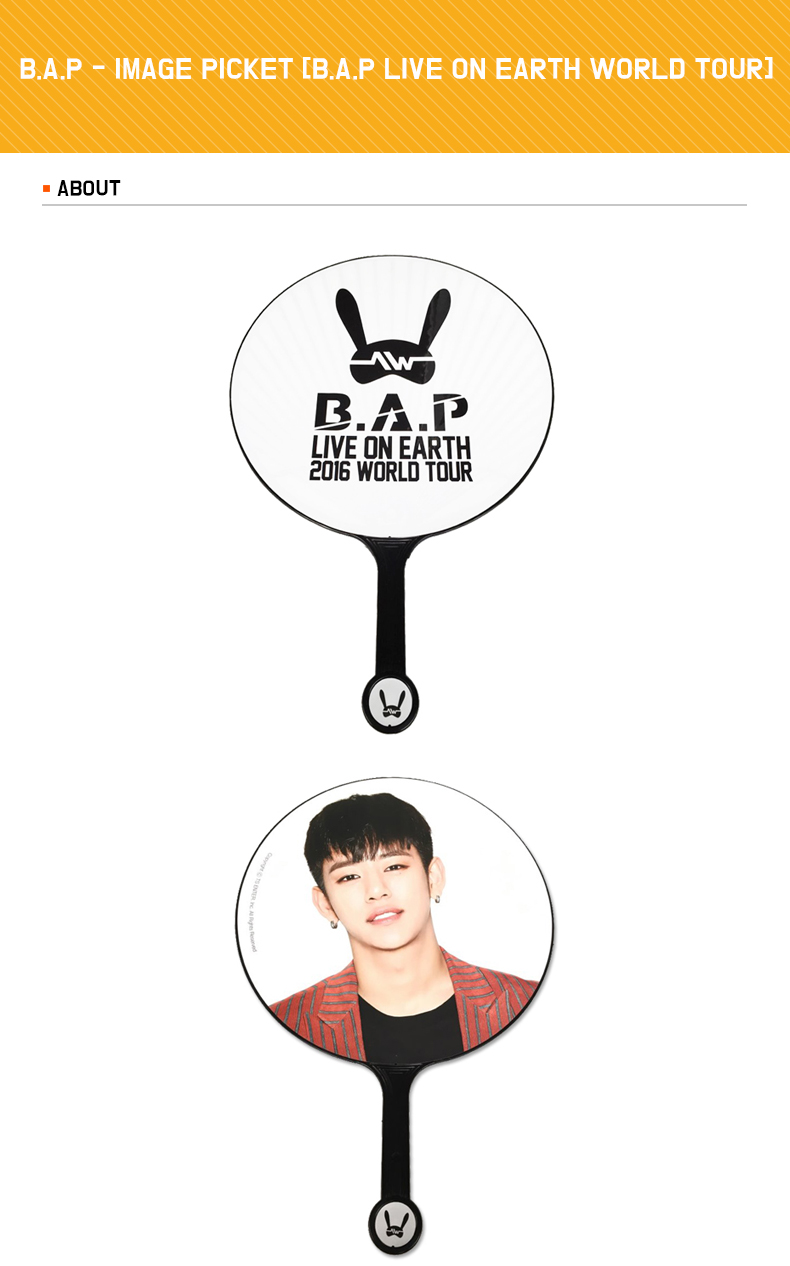 B.A.P - IMAGE PICKET [B.A.P LIVE ON EARTH WORLD TOUR]