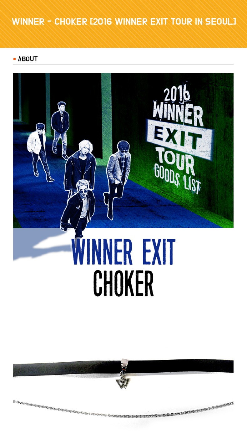 WINNER - CHOKER [2016 WINNER EXIT TOUR IN SEOUL]