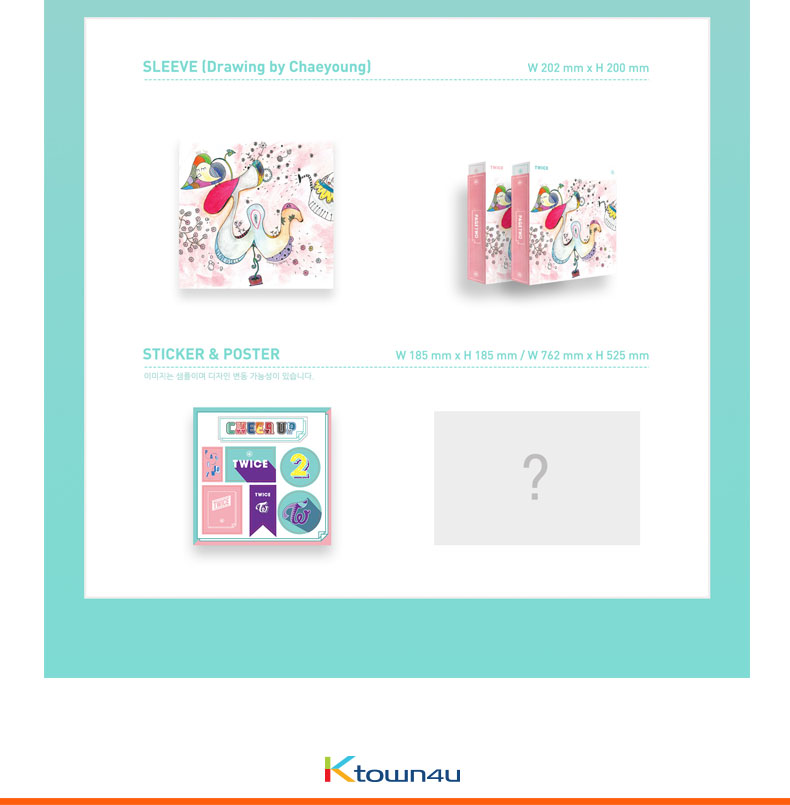 TWICE - Mini Album Vol. 2 [PAGE TWO] (We will ship out Random version ( Among Mint ver. , Pink ver. , Special ver.))