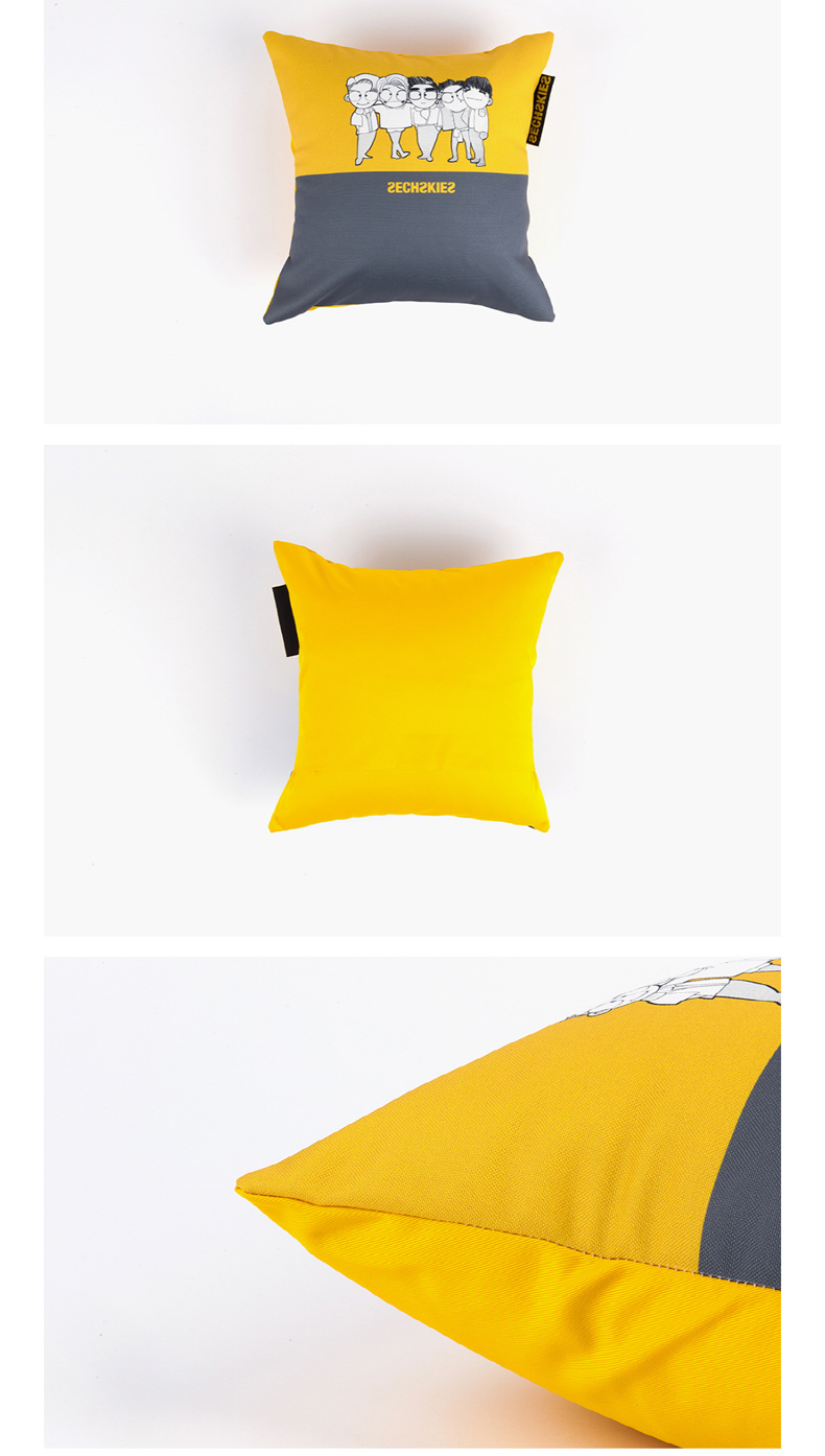 SECHSKIES - CUSHION [2016 SECHSKIES CONCERT YELLOW NOTE]
