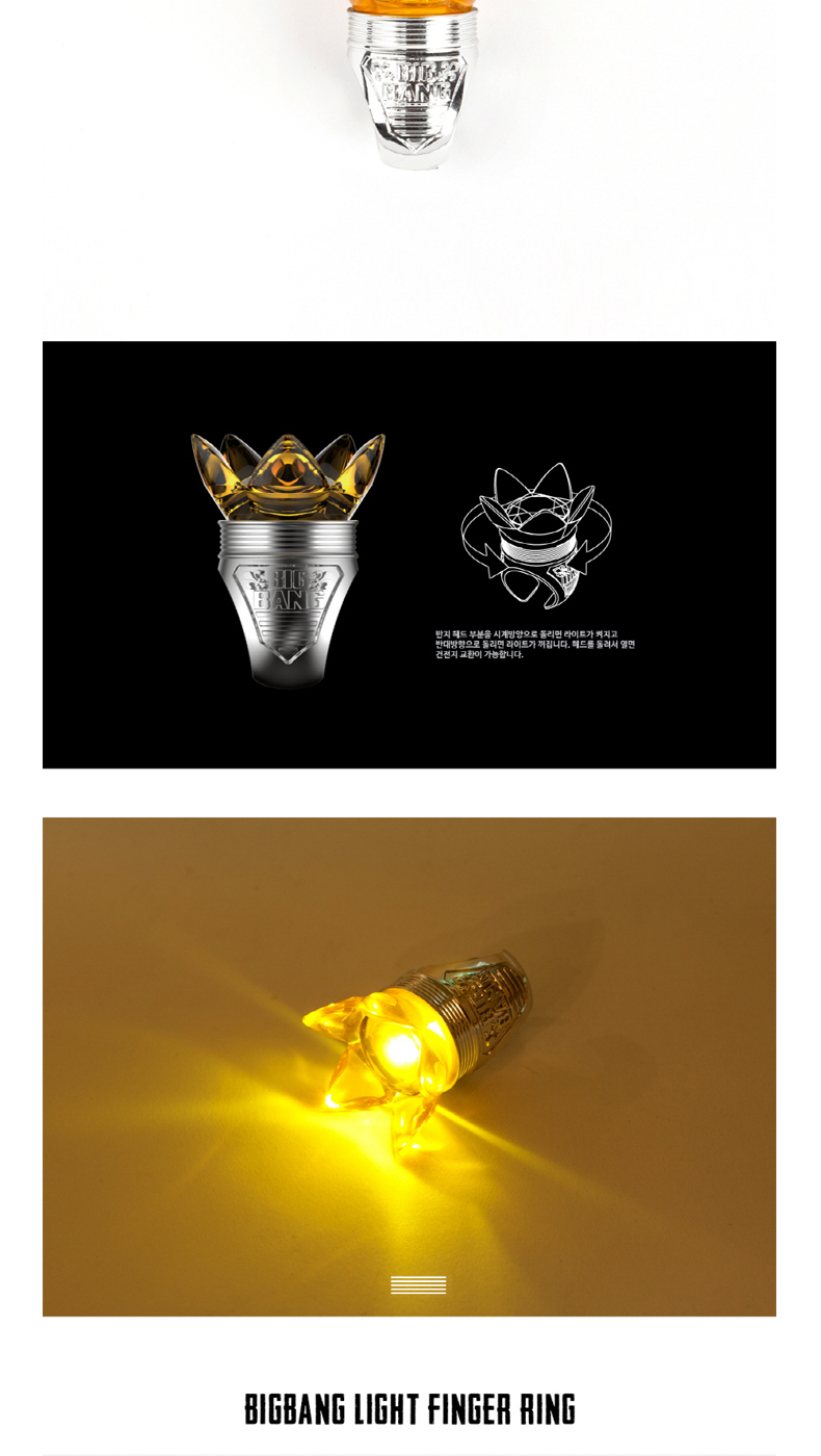 [0TO10] BIGBANG - LIGHT FINGER RING