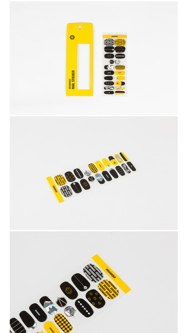 SECHSKIES - NAIL STICKER [2017 SECHSKIES YELLOW NOTE FINAL IN SEOUL]