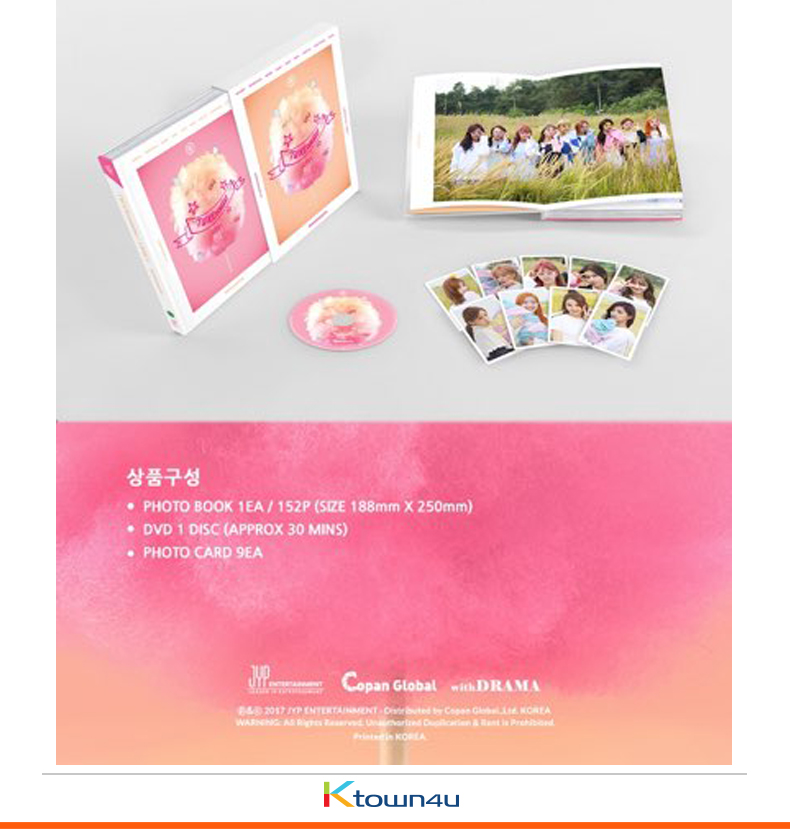 [Photobook&DVD] TWICE - TWICEcoaster : LANE1 MONOGRAPH