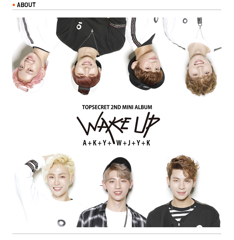 TopSecret - Mini Album Vol.2 [WAKE UP]