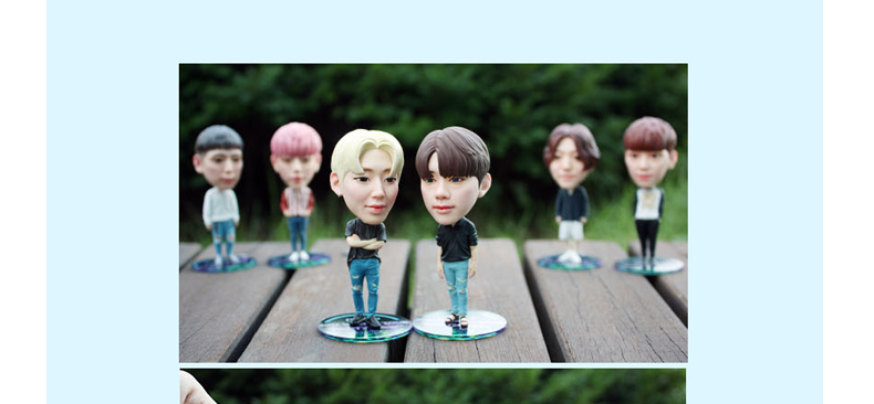 B.A.P - CHARACTER FIGURE KEYRING (SET VER)