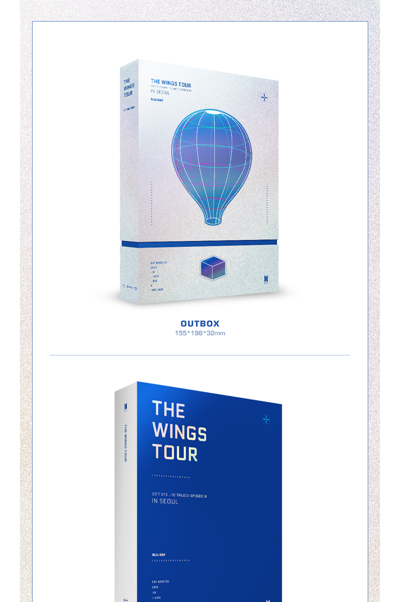[Blu-Ray] BTS - 2017 BTS Live Trilogy EPISODE III THE WINGS TOUR in Seoul CONCERT