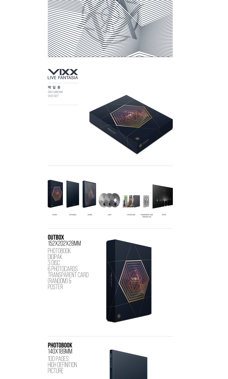 [DVD] VIXX - VIXX LIVE FANTASIA DAY DREAM DVD