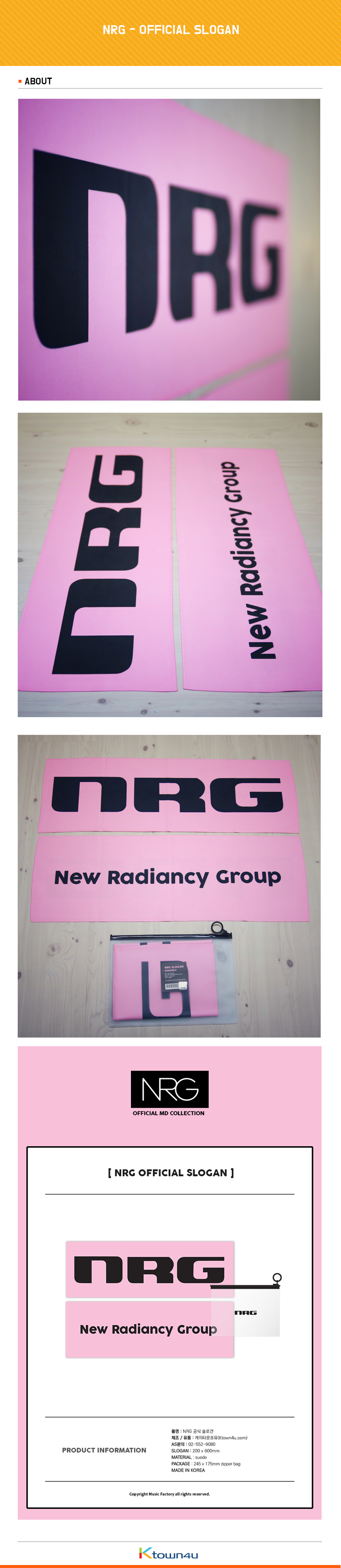 NRG - OFFICIAL SLOGAN