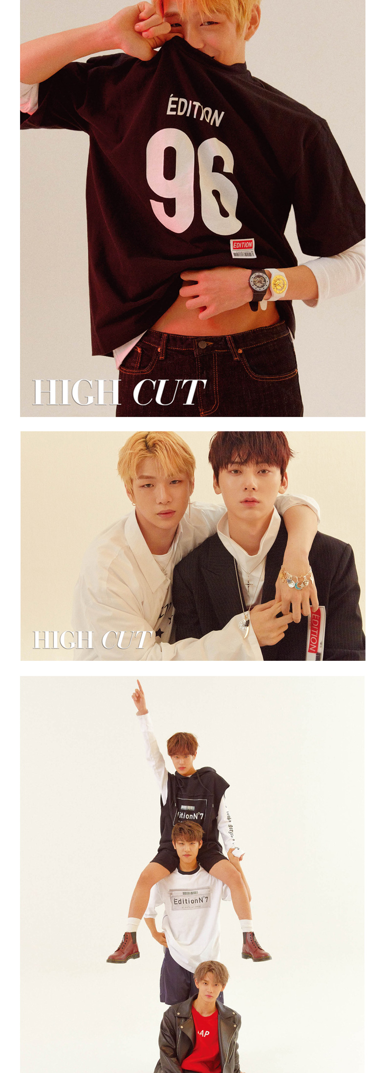 [Magazine] High Cut - Vol.216 A Type (Wanna one)